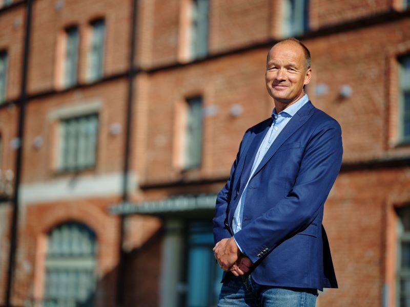 Professor Jan Saarela vid Åbo Akademi i Vasa